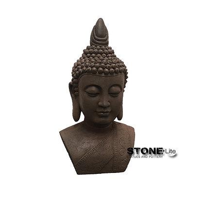 Boeddha hoofd roest 28.5X20X46 cm