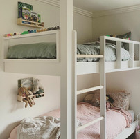 Custom built-in-bunks