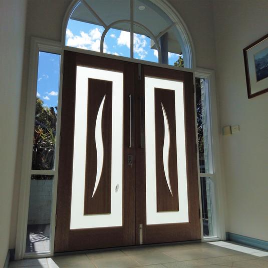 New entrance doors in Nicholls - After