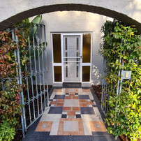 New entrance in Kaleen - Before