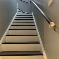 Internal handrail