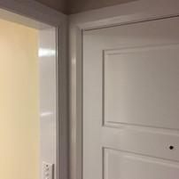 After - New front door and trim