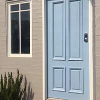New garage door with smart lock