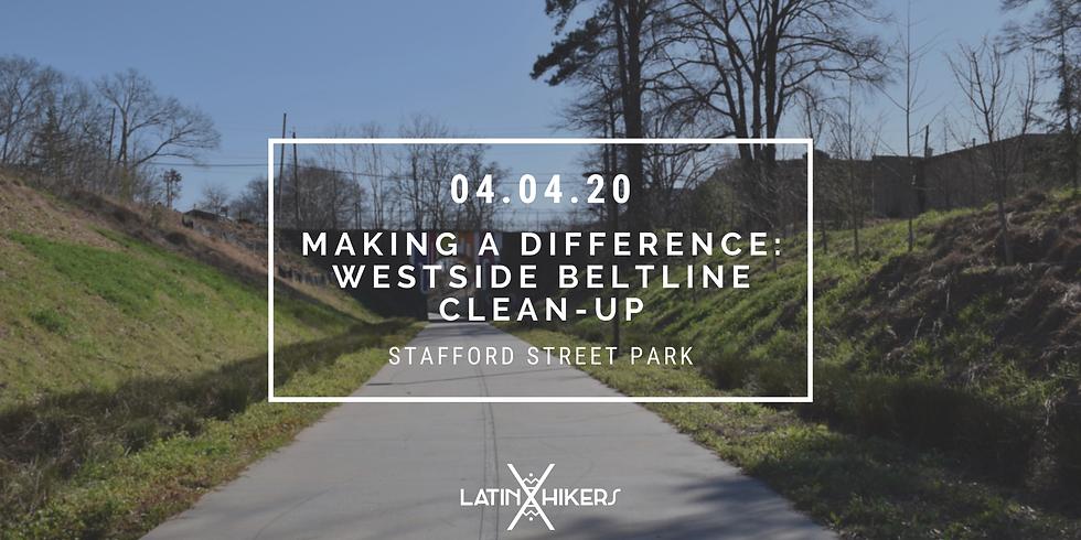 Making a Difference: Westside Beltline Clean-Up