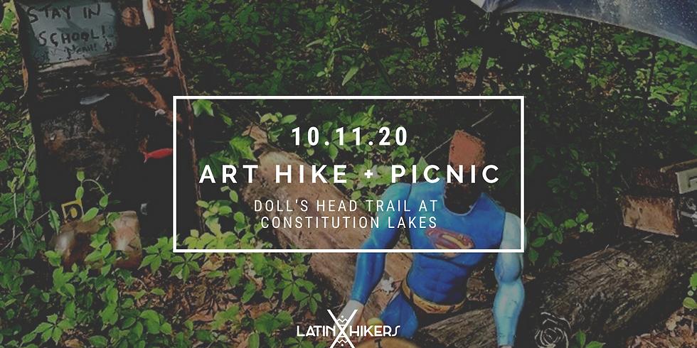 Art Hike + Picnic at Doll's Head Trail