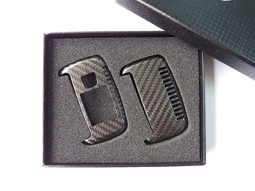 Pure Carbon Fiber Key Case Cover for Range Rover