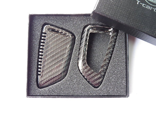Pure Carbon Fiber Key Case Cover for BMW X5 X6 F15 F16