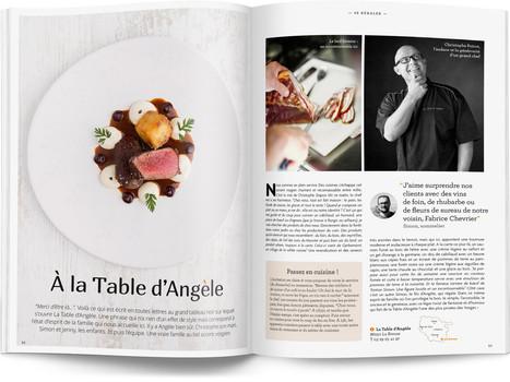 """Direction artistique et mise en page du magazine """"Voyages en Lorraine"""" 2016 / pp 50-51"""