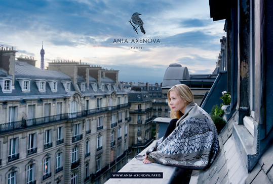 "Shooting photo et direction artistique pour ""Ania Axenova – Paris"""