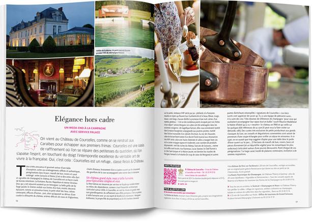 """Direction artistique et mise en page du magazine """"Esprit Hauts-de-France"""""""