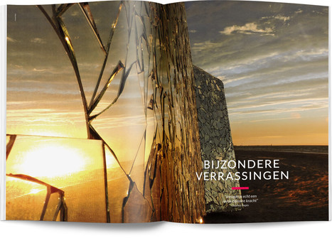 """Direction artistique et mise en page du magazine """"Esprit Hauts-de-France"""", version néerlandaise"""