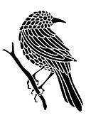 """Création du logo et de la charte graphique pour """"Ania Axenova – Paris"""" / bird design"""