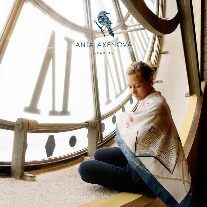 "Shooting photo et Direction artistique pour""Ania Axenova – Paris"""