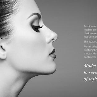 """Design de site vitrine pour """"Model Village"""""""
