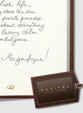 Calligraphie pour Sofitel