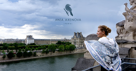"Shooting photo et direction artistique pour ""Ania Axenova – Paris"""