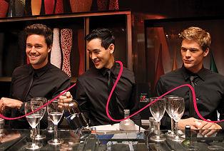 Direction artistique de traitement photo pour Runway Waiters / barman