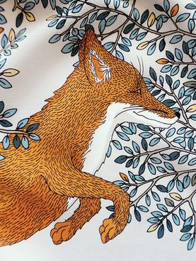 """Design de foulard """"Le Roi de la forêt"""""""