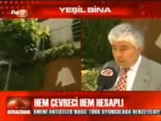 Şirketimiz Genel Müdürü Arif Künar'ın TV8 'de yayınlanan Yeşil Binalar ile ilgili videosu