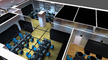 VENESCO Takımı Uluslararası DIALux Ofis Aydınlatma Tasarımı Yarışmasında