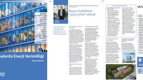 """Ven ESCO SKD Türkiye'nin """"Binalarda Enerji Verimliliği. Başarı Öykünüz"""" dergisinde"""