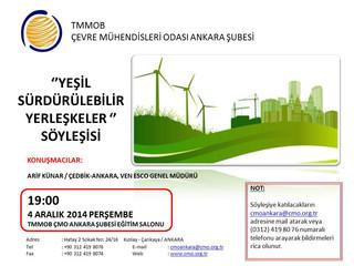Yeşil Sürdürülebilir Yerleşkeler Söyleşisi