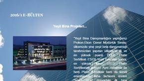 VENESCO Aydınlatma ve Yeşil Bina e-Bülteni Yayında