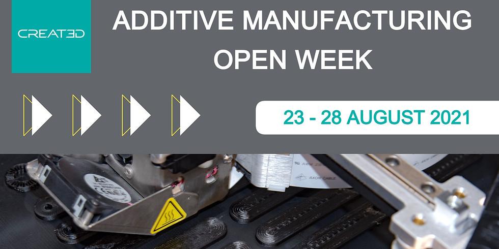 Additive Open Week - August