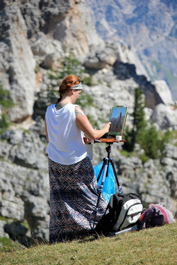 Plein Air: Italian Dolomites
