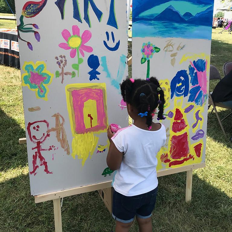 Family Day at Frederick Douglass Park