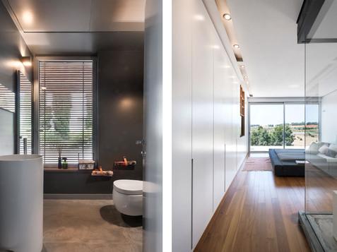 חדר שינה עם חדר רחצה