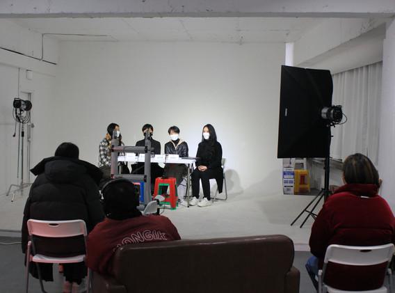 작가와의 대화 현장사진