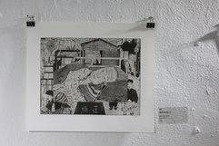 교림, <할머니의 초상 II>, 알데바란 종이에 에칭, 325×250mm, 2020