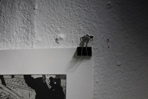 교림, <할머니의 초상 I> 부분, 알데바란 종이에 에칭, 325×250mm, 2020