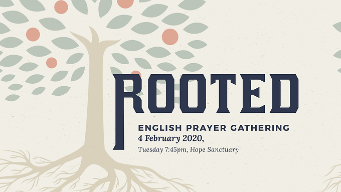 English Prayer Gathering