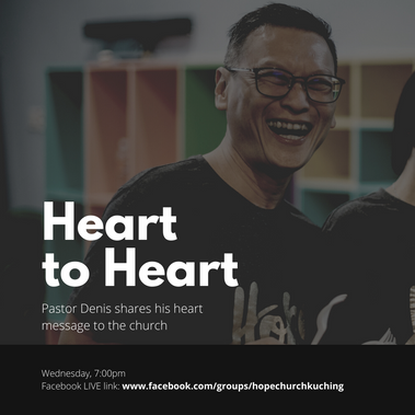 Facebook Group: Heart to Heart by Ps Denis