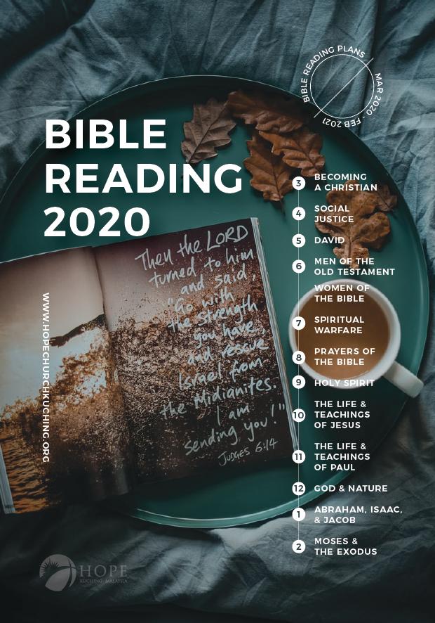 Bible Reading Plan 2020