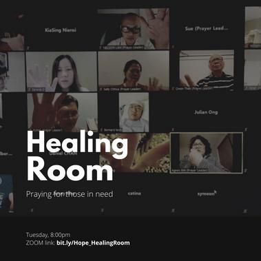 ZOOM: Healing Room