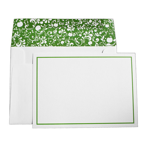 Large Floral Notecard & Envelope 10 Pack