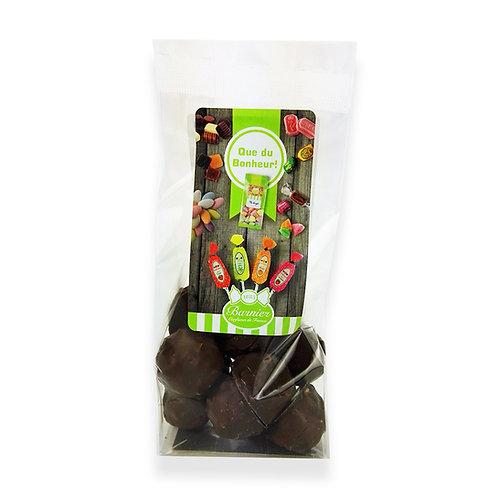 Sachet rochers chocolat noir