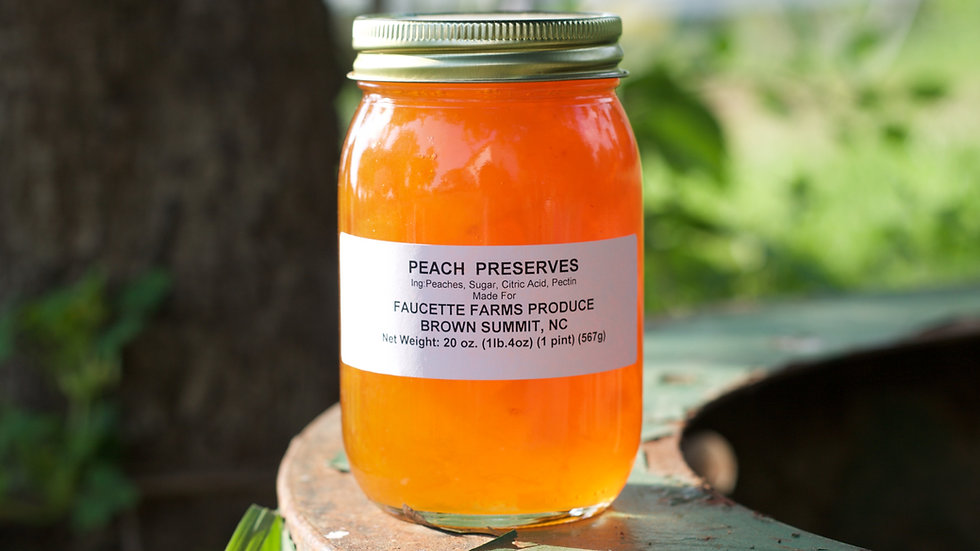 Fruit Preserves [6pts]