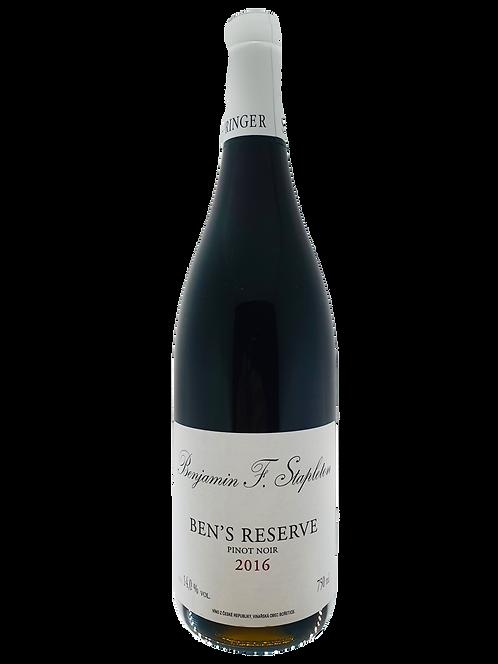 Stapleton & Springer Ben's Reserve Pinot Noir 2017