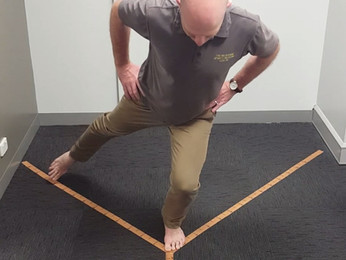Return To Sport Tests: The Star Excursion Balance Test.