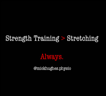 Strengthening vs Stretching