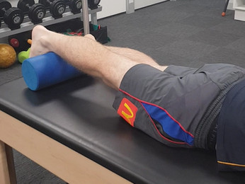 ACL Rehabilitation: Prone Terminal Knee Extensions