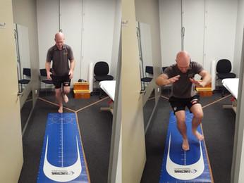 Return to Sport Testing: Single Leg Hop Test.