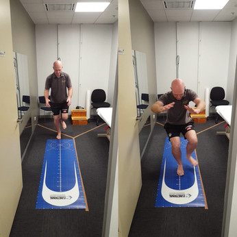 Return to Sport Testing: Single Leg Hop Test.