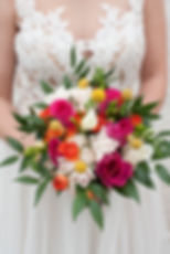 Bright and Cheerful bridal bouquet