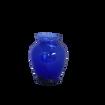 Cobalt Blue Glass Tulip Vase