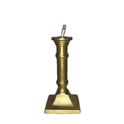 Gold Candlestick Style Table Number Holder